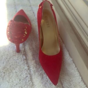 High heels guess shoes
